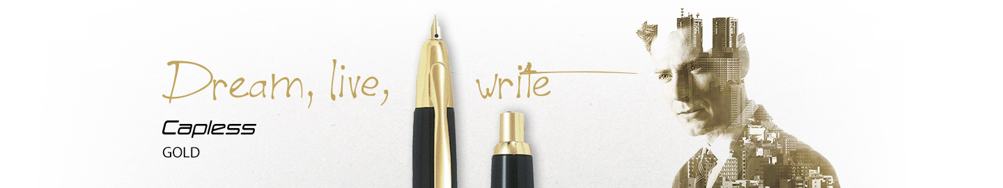 Pilot - Fine Writing - Capless Gold