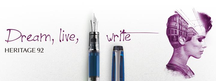 Pilot - Fine writing - Heritage 92 Blue