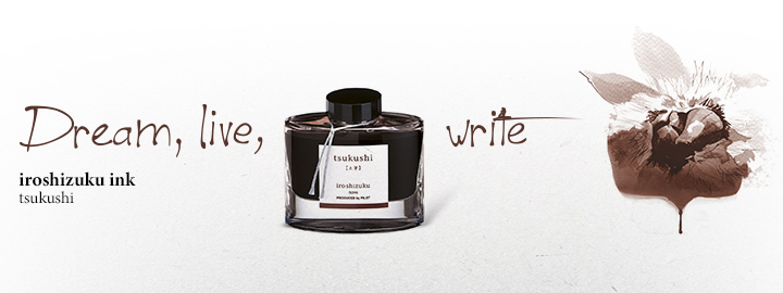 Iroshizuku Ink Brown - Pilot Fine writing