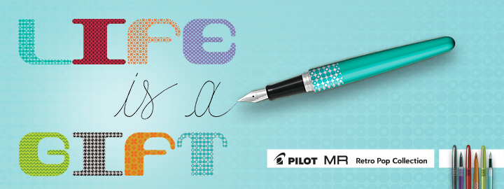 Fountain pen - Pilot MR Retro Pop Collection