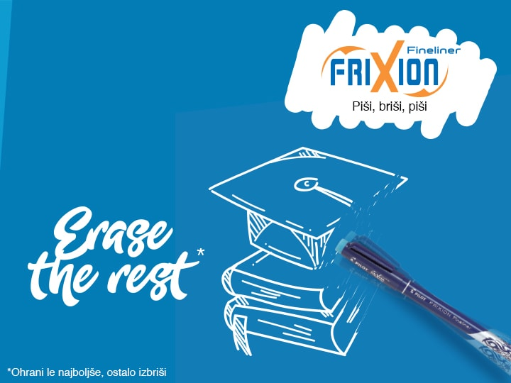 Marker za risanje Pilot FriXion Fineliner