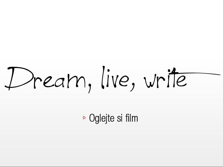 Pilot Dream, live, write : Oglejte si film