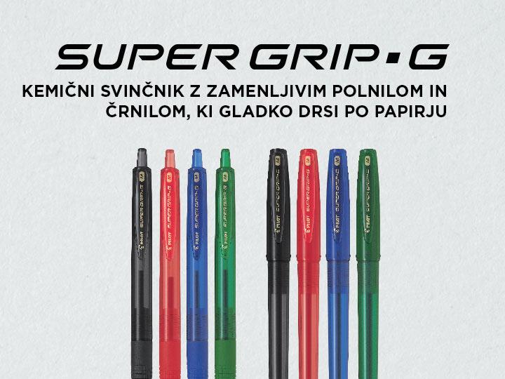 Kemični svinčniki Pilot Super Grip G