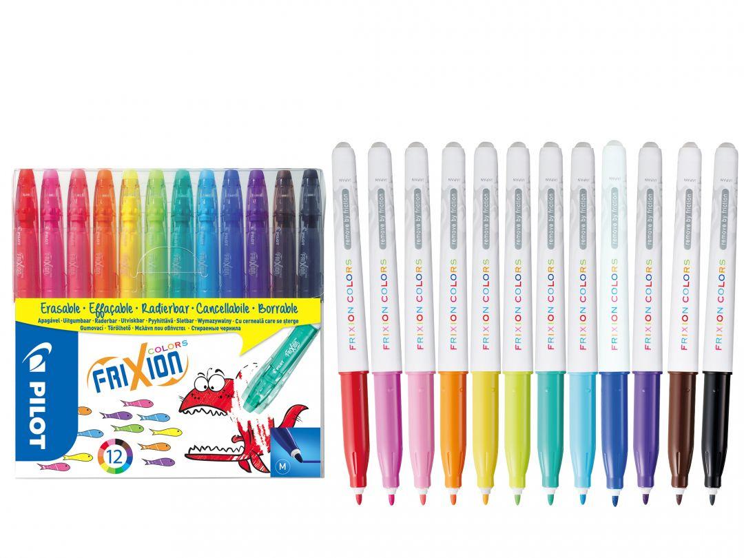 FriXion Colors - Set 12 - Sortirane barve - Srednja konica