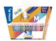 FriXion Ball - Pakiranje 15 kosov - Sortirane barve - Srednja konica
