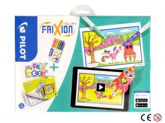 FriXion Colors - Set My FriX Book x 6 - Sortirane barve - Srednja konica