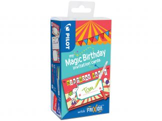 FriXion Colors - My Magic Birthday Cards - Circus - Sortirane barve - Srednja konica