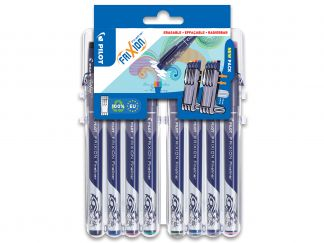 FriXion Fineliner - Evolutive Set of 8 - Sortirane barve - Tanka konica