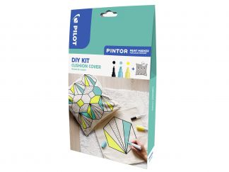 Pilot Pintor - Set DIY Cushion Cover - Sortirane barve - Fine/Broad konica
