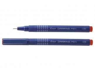 Drawing Pen 02 - Marker za risanje - Fineliner - Rdeča - Tanka konica
