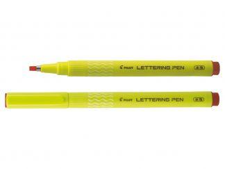 Lettering Pen 30 - Marker za risanje - Fineliner - Rdeča - Široka konica