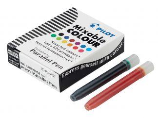 Parallel Pen - Set 12 vložkov  - Sortirane barve - Tekoče črnilo
