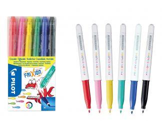 FriXion Colors - Set 6 - Sortirane barve - Srednja konica